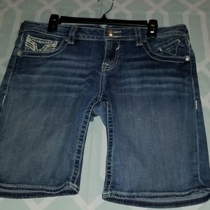 Vigoss Bermuda Jean Shorts